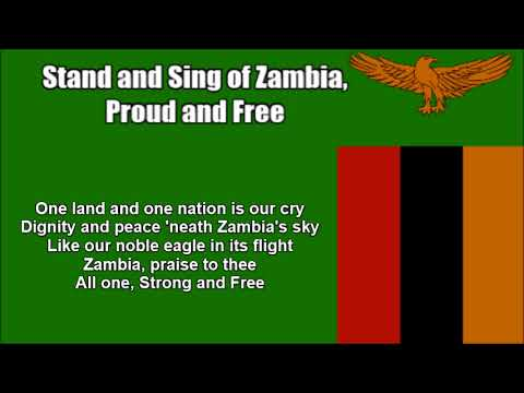 Stand and Sing of Zambia, Proud and Free National Anthem in Nightcore Style With Lyrics
