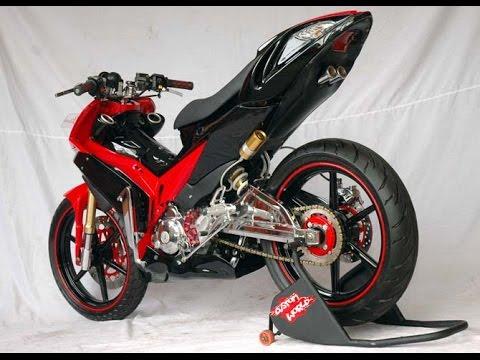 Motor Trend Modifikasi | Video Modifikasi Motor Yamaha Jupiter MX Racing Style Terbaru Part 2