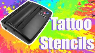 How to use a ?THERMAL PRINTER? to make tattoo stencils?!!