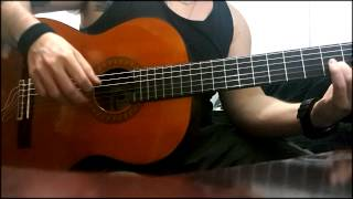 Amon Amarth - War of the Gods - (Cover on acoustic guitar) - Marcos Araujo
