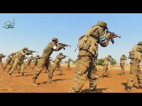 2nd group of FSA Special Forces graduate from training camp in rural north Hama