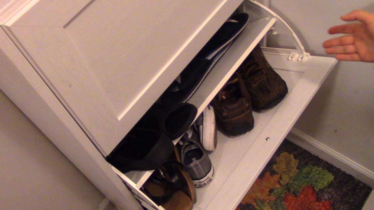 Ikea Brusali White Shoe Shelf Review