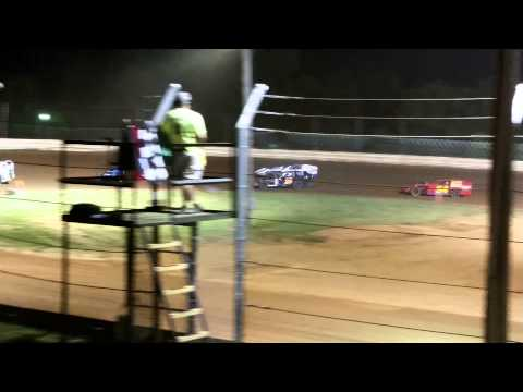 Doe Run Raceway Josh Hauf#25 Heat Race 8-14-15