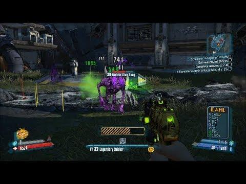 Borderlands 2 Walkthrough: Creature Slaughter - Round 3 |