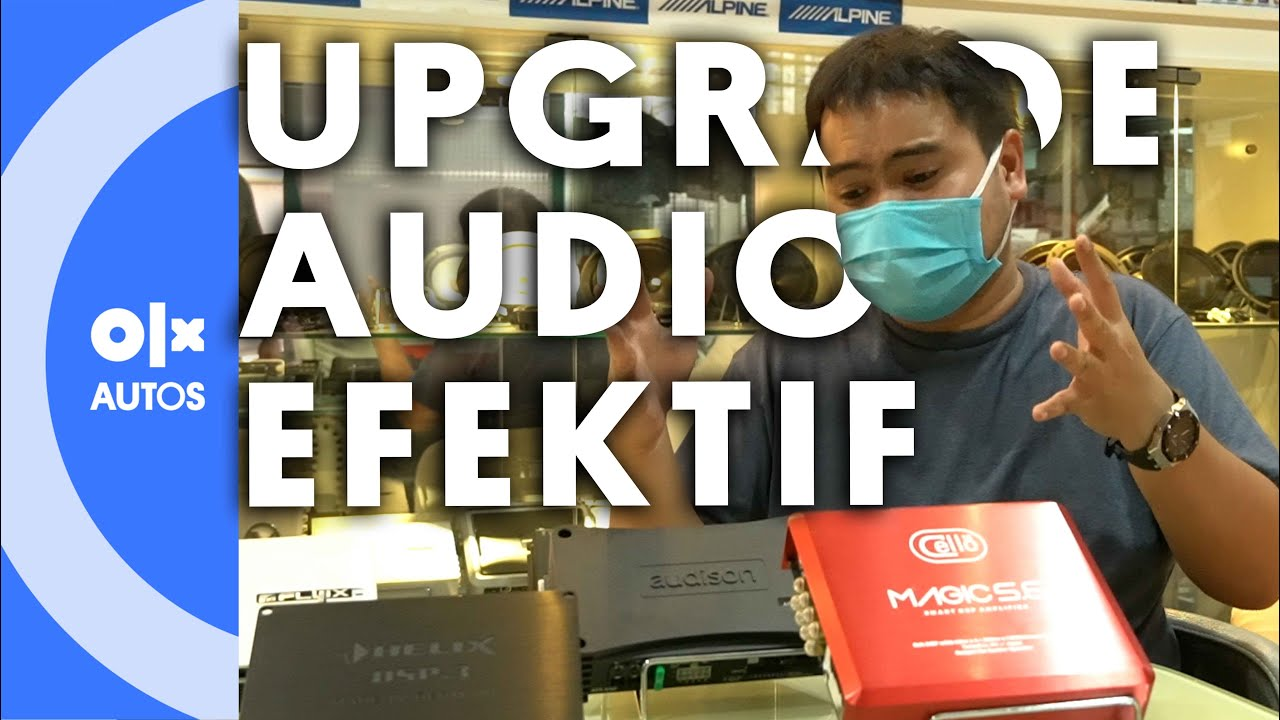 Prosesor Untuk Mengoptimalkan Audio Mobil Secara Efektif dan Simpel
