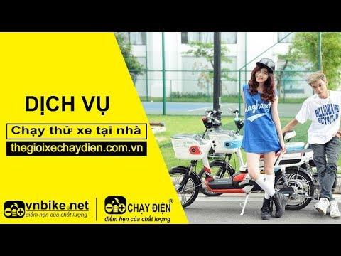 Dịch vụ chạy thử xe đạp điện, xe máy điện tại nhà