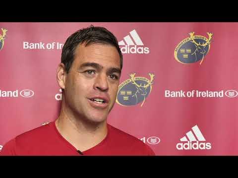 Johann van Graan Interview   Munster Rugby Pre-Season 2019/20