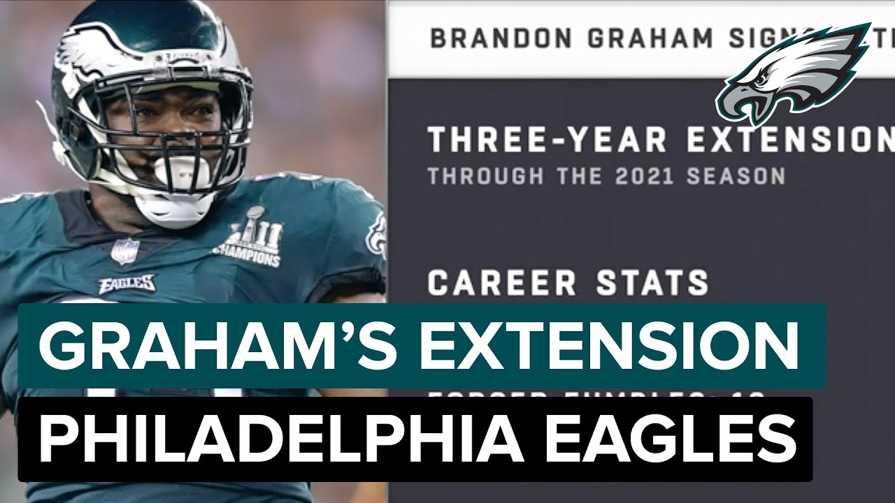 'I'm Smiling From Ear to Ear' Brandon Graham's Reaction to Contract  Extension | Philadelphia Eagles