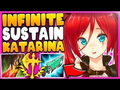 *CRAZY SUSTAIN* THIS OFF-META KATARINA BUILD ACTUALLY WORKS - League of Legends