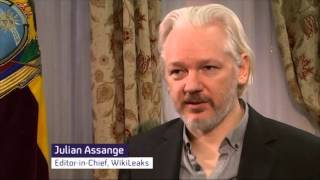 Julian Assange speaks out about rape charges, ISIS & intelligence leaks