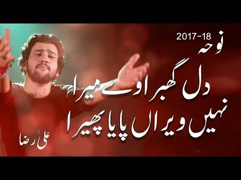 Noha - Dil Ghabra we Mera - Ali Raza Khan - 2017
