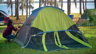 How to Set Up Your Coleman® Dark Room 4-Person Tent