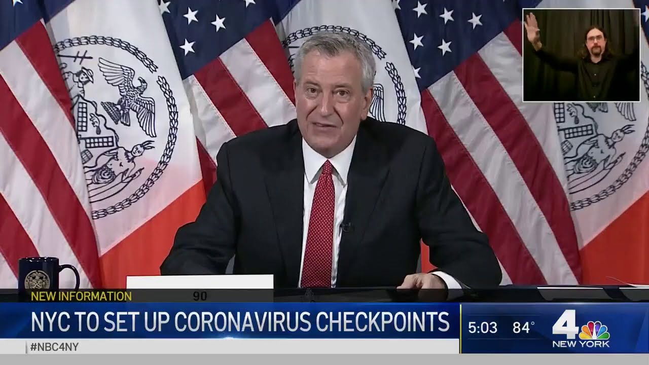 NYC to Implement Quarantine Checkpoints to Stop COVID-19 Spread | NBC New York Coronavirus Update