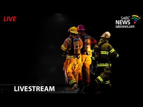Memorial service  for 3 firemen who lost their lives in Joburg CBD fire