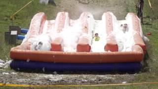 The 5K Foam Fest: Slip n' Slide Obstacle