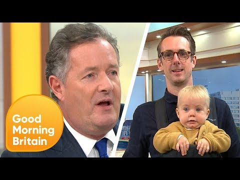 18 Best Responses To Piers Morgan Who Mocked Daniel Craig For Carrying His Baby In A 'Emasculating' Baby Carri