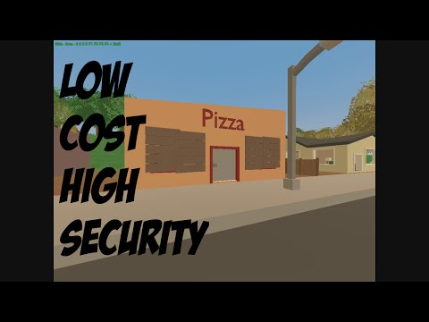 Unturned Base Build - Low Cost High Security