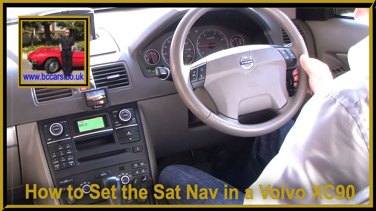 How to Set the Sat Nav in a Volvo XC90