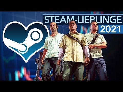 Was sind jetzt gerade die beliebtesten Games? - Steam-Spielerzahlen 2021