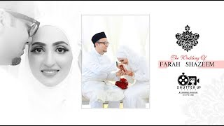 The Wedding of Shazeem + Farah