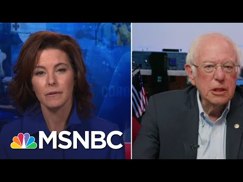 Sen. Sanders: 'How Great Is An Economy Where People Go Into Desperation?' | Stephanie Ruhle | MSNBC
