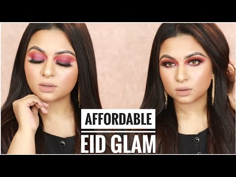 Affordable EID Makeup Tutorial | Purple Smokey Eyes Glam | Bangladesh || Ananya Artistry thumbnail