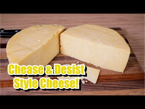 Chease & Desist Style Cheese with Taste Test.  To Italy with Love