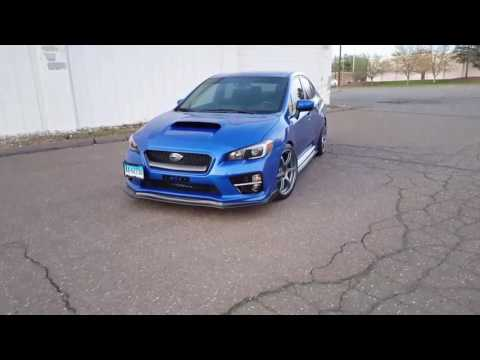 2016 wrx on 19s advan rg3 with rce yellow lowering springs