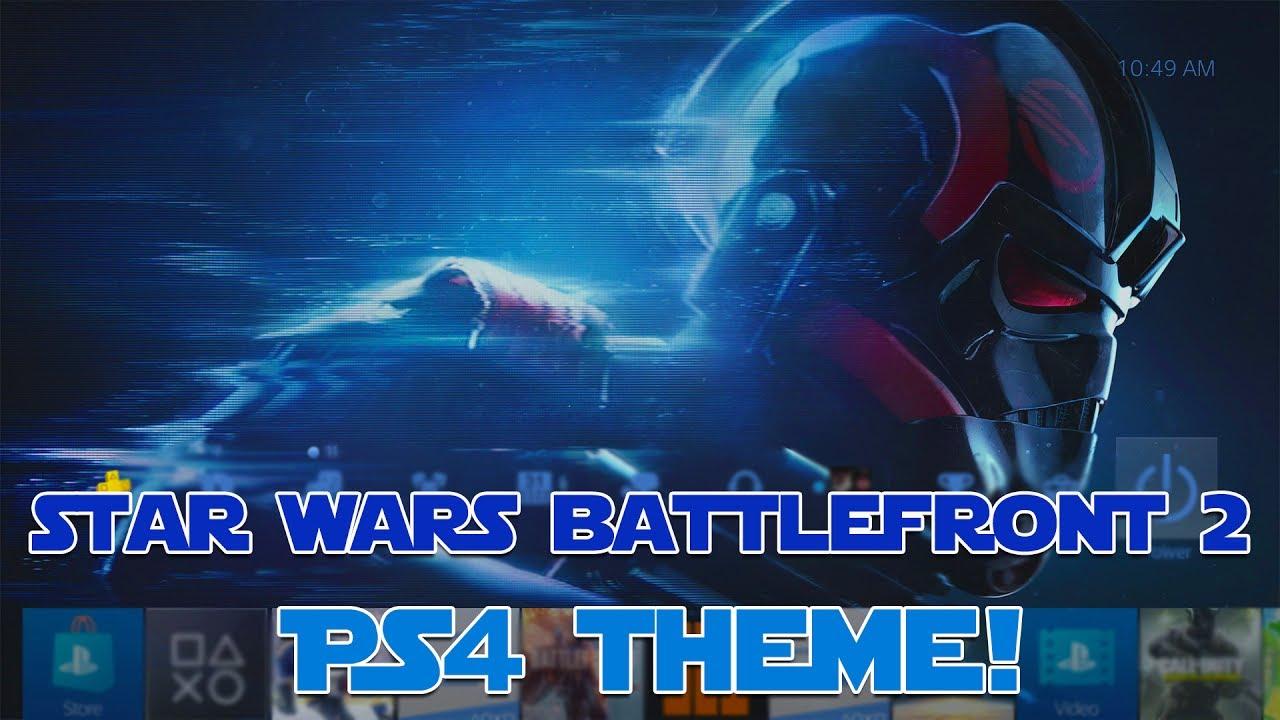 star wars battlefront 2 ps4 theme showcase youtube. Black Bedroom Furniture Sets. Home Design Ideas