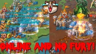 Lords Mobile Online no fury Player zeroed/burned