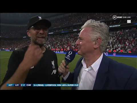"""ADRIAN!!!!!!!!"" Jurgen Klopp goes full Rocky Balboa after UEFA Super Cup win"