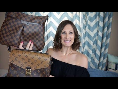 Louis Vuitton Pochette Metis vs  Bloomsbury PM Comparison Video