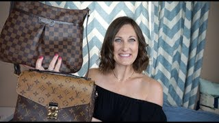 Louis Vuitton Pochette Metis vs  Bloomsbury PM Comparison Video