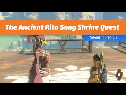 The Ancient Rito Song Shrine Quest | The Legend of Zelda: Breath of the Wild