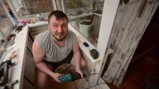 Обшивка тесного балкона в хрущевке 2. WL86(, 2016-07-01T09:22:13.000Z)