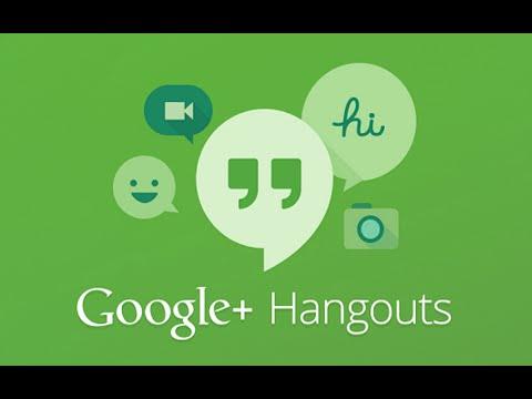 Как пользоваться hangouts