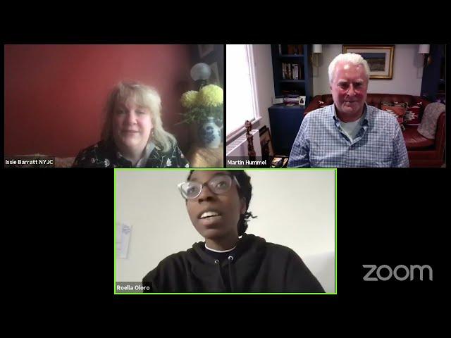 #NationalYouthJazz Wednesday: Issie Barratt in conversation with Martin Hummel