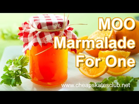 MOO MARMALADE FOR ONE