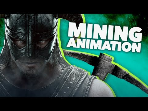 Why Skyrim's Mining Animation Is Bad - New Frame Plus