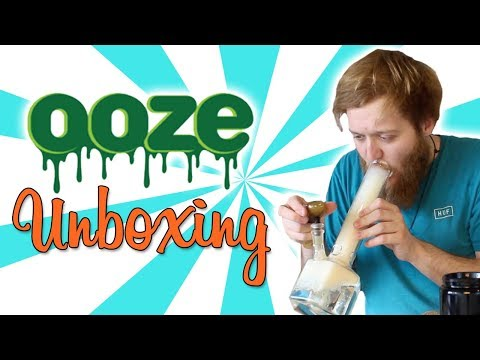 OOZE UNBOXING SMOKE SESSION!!