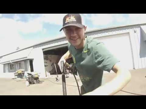 Kinzer Cox GoPro Coosbay Speedway 9-3-16
