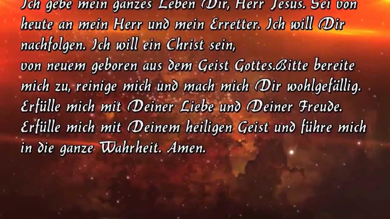 Jesus übergabegebet Übergabegebet