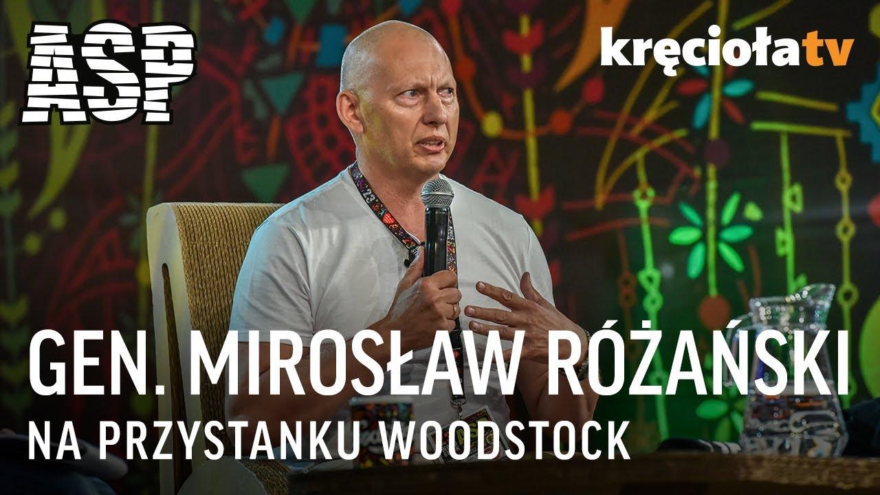 gen. Mirosław Różański – spotkani na ASP w CAŁOŚCi / #woodstock2017