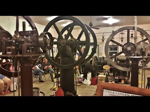 Large Gas, Oil, & Hot Air Engines at the Rough & Tumble Show 2017