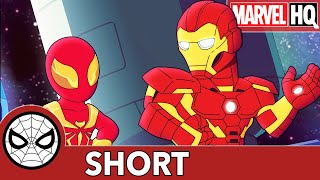 Ol' Spidey Learns New Tricks! | Marvel Super Hero Adventures - Try It, You'll Like It | SHORT