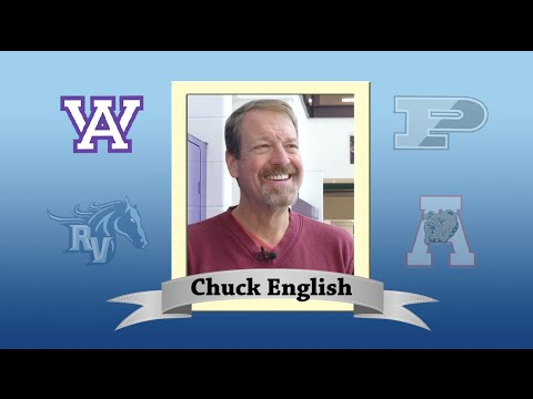 Arvada West High School Super Teacher 2015-16 - Chuck English