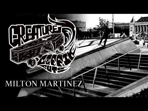 The Creature Video Coffin Cuts: Milton Martinez