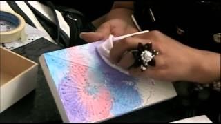 Técnica de Pintura en Textura