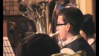 Oldham Youth Brass Band plays Be Still, Royton 2011