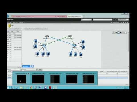NEC ProgrammableFlow SCVMM Demo